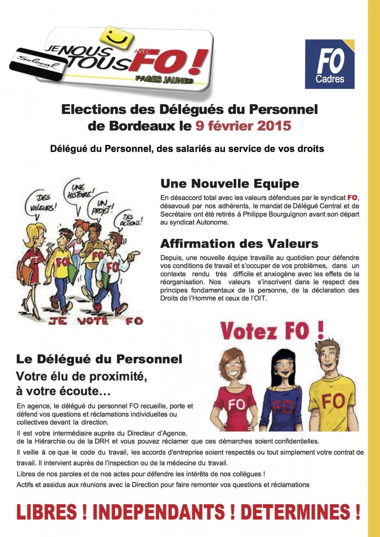 page1 recto  élection Bdx FO